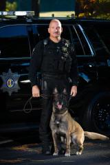Lt. G. Becker & K-9 Rocco