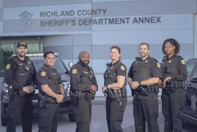 Six RCSD Uniform Division Deputies Pose