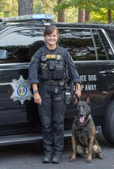 Deputy Merriman & K-9 Rudy